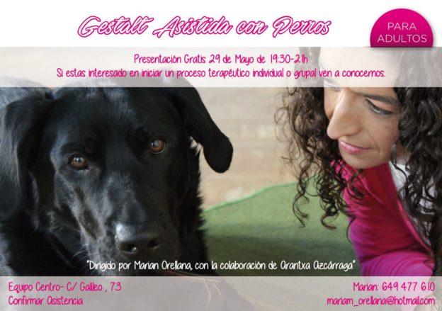 """Presentación """"Gestalt Asistida con Perros"""""""